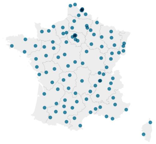 Cartographie Villes 2020